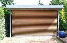 Holzverkleidung Beispiel 1 - (bauen, Handwerk, Holz)