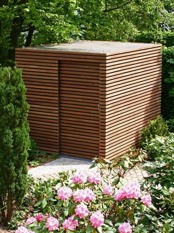 Holzverkleidung Beispiel 2 - (bauen, Handwerk, Holz)