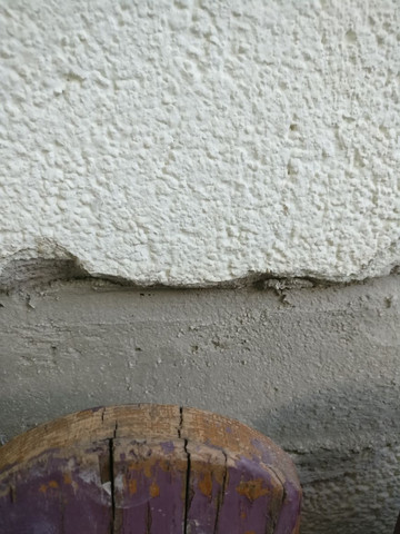 fassadenputz wiederherstellen um welche oberfl che handelt es sich bau mauer putz. Black Bedroom Furniture Sets. Home Design Ideas