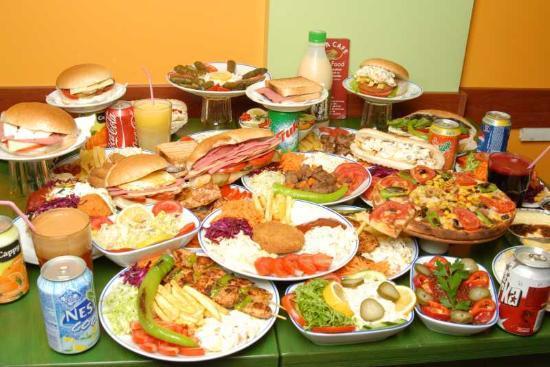 Fast food/Junkfood : Welches davon ist das, naja ...