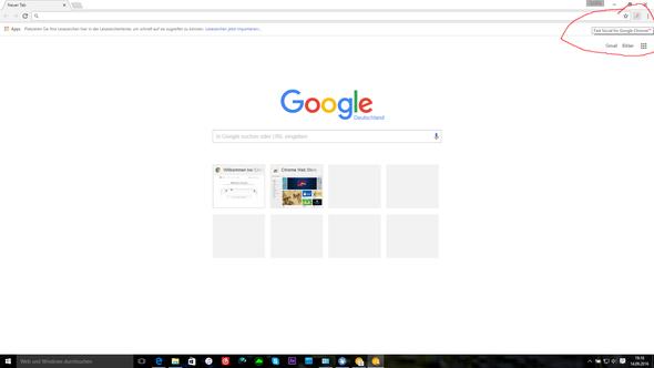Hier ist das Fast Social - (Computer, Virus, google-chrome)