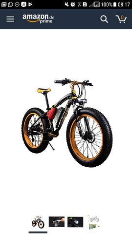 - (Amazon, Fahrrad, E-Bike)