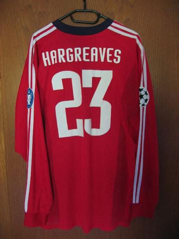 Hargreaves - (Fußball, Schriftart, FC-Bayern)
