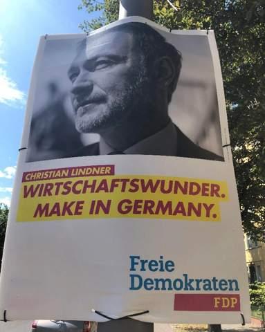 FDP kann nicht schreiben?