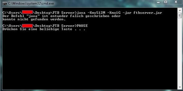 Der Fehler - (Computer, Minecraft, Windows)