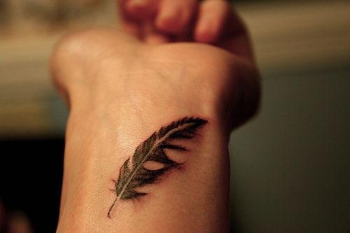 Feder - (Tattoo, Feder)