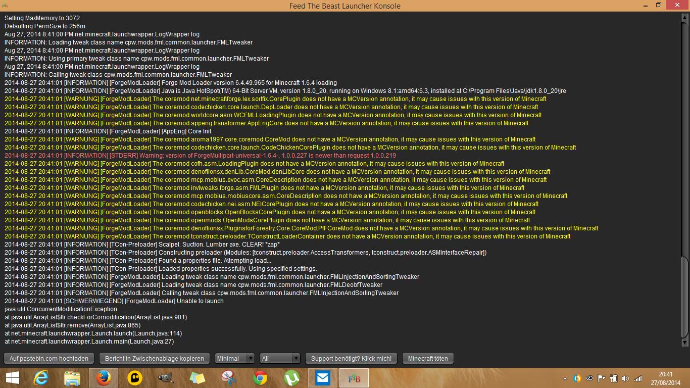 Feed The Beast Auf Nitrado Server Installieren All About Exhaust - Nitrado minecraft server backup erstellen