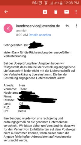 Ihre Antwort - (Post, Deutsche Post, Zustellung)
