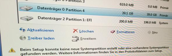 fehler - (Windows 7, Mac)
