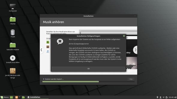 Der Fehler - (Computer, Linux, Linux Mint)
