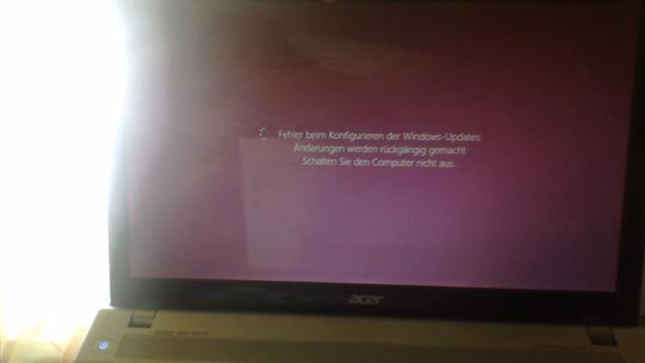 die fehlermeldung - (Computer, PC, Windows)