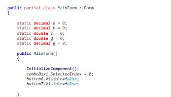 Fehler im Code, aber ich weiß nicht wo der Fehler liegt ( C# und SharpDevelop)?
