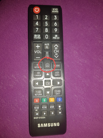 "Fehler Samsung TV ""NU 7199""?"