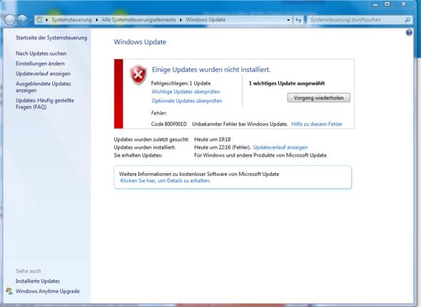Komplette Fehler Meldung - (Windows 7, Fehlermeldung, Nvidia)