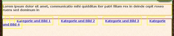 Fehleransicht - (html, Browser, CSS)