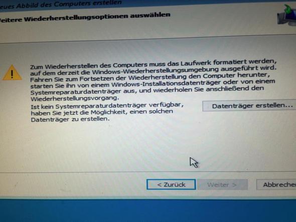 Fehlermeldung  - (Computer, PC, Windows)