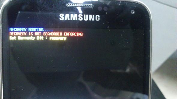 Vergleichsbild aus dem Internet nach dem Rooten - (Samsung, Fehlermeldung, Root)