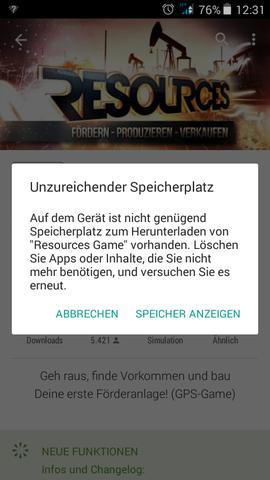 Die Fehlermeldung - (Smartphone, Android, Apps)