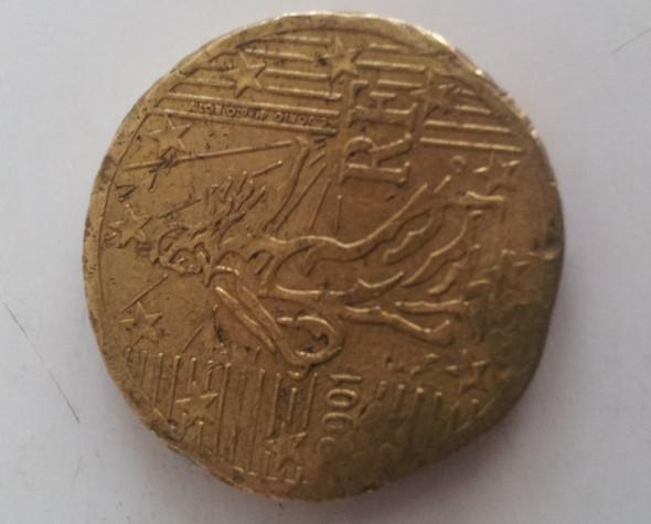 Fehlprägung Französische 50 Cent Wieviel Wert Geld Münzen