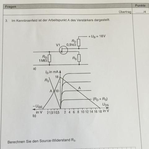 Aufgabe  - (Mathe, Rechnung, Elektrotechnik)