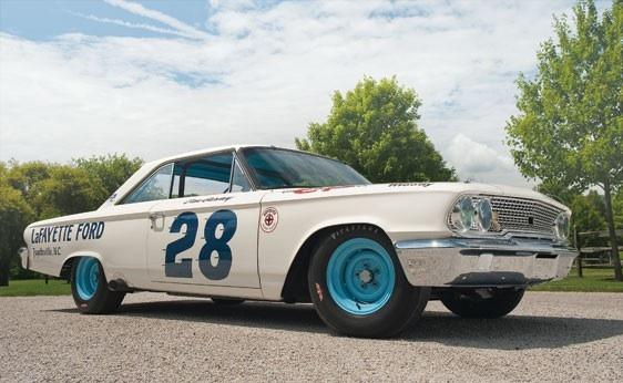 1963 Ford Galaxie Nascar No.28 - (Auto, Tuning, Felgen)