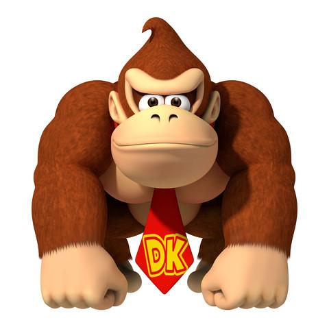 Donkey Kong - (Kunst, basteln, malen)