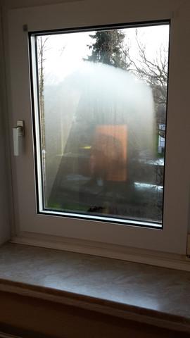 Fenster beschlagen - (Fenster, naß, Beschlagen)