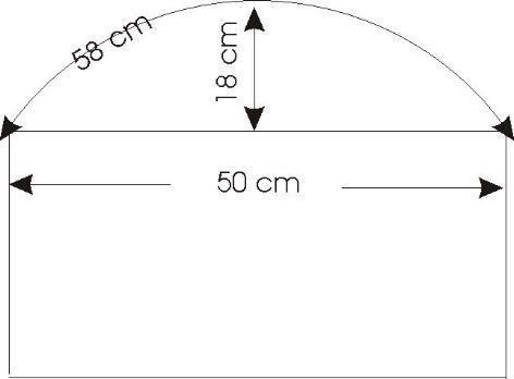 fensterbau radius herausfinden wenn nur die bogenl nge. Black Bedroom Furniture Sets. Home Design Ideas