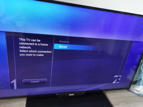 Fernseher verbindet sich nicht mit dem Internet. Kann jemand helfen?