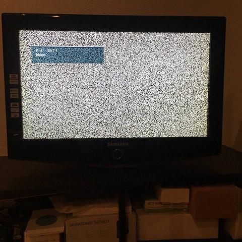 Fernseher zeigt kein TV?