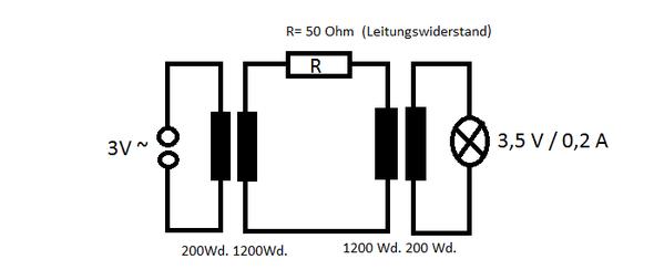 fern bertragung von elektricher energie warum 2 trafos physik strom. Black Bedroom Furniture Sets. Home Design Ideas