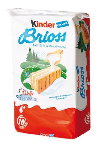 Kinder Brioss - Leckere Kuchen mit Milchfüllung - (essen, Kinder, Kuchen)