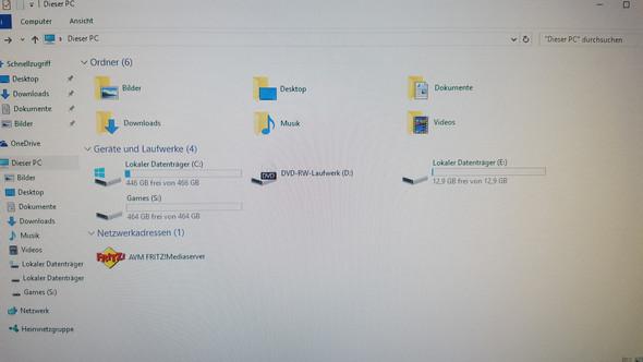 12,9GB Partition?? - (Computer, Windows, Win10)