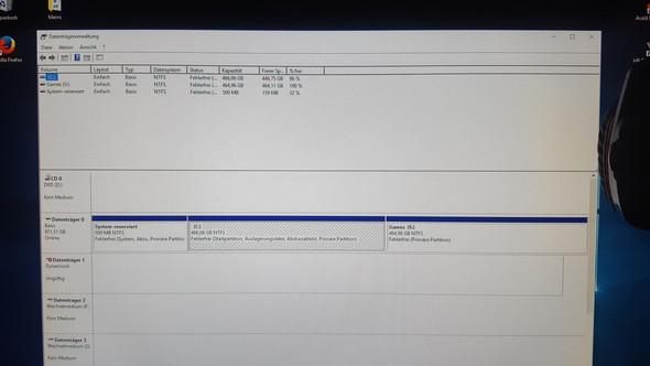 Datenträger 1 - Ungültig? - (Computer, Windows, Win10)