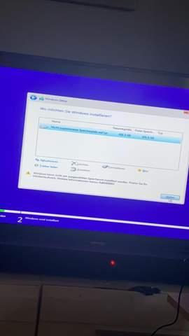 Festplatte vor Win10 install gelöscht?