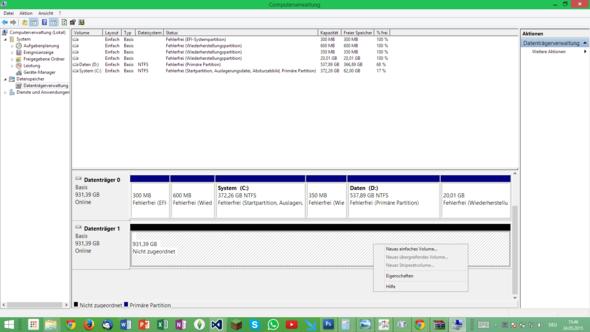 Hilfe! - (USB, externe Festplatte, Windows 8.1)