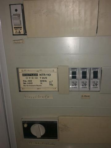 Mein Sicherungskasten - (Strom, Elektriker, fi-schalter)