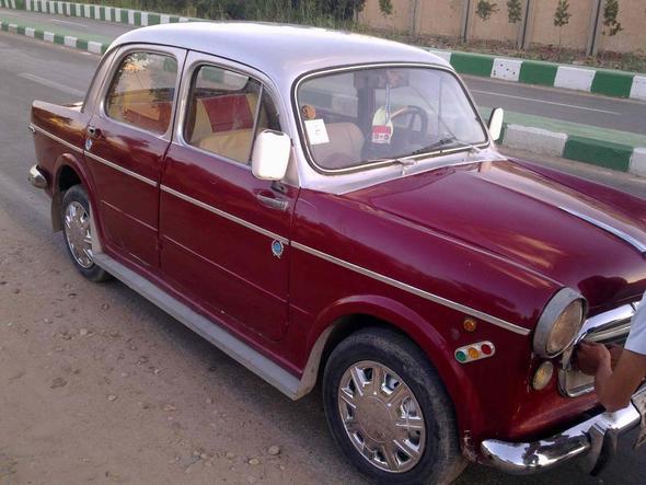 FIAT 1100 Bauj. ??? - (Auto, Oldtimer, Fiat)