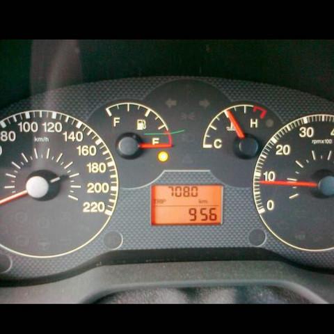 Fiat Punto -  wie weit kann ich noch fahren?