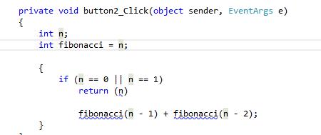 Fibonacci rekursiv - (programmieren, Informatik)
