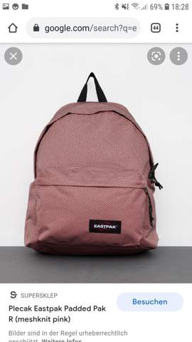 Can you find this Eastpak backpack nice or not?