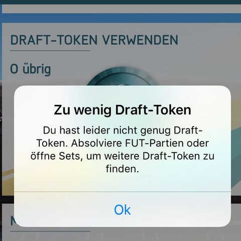 Das kam bei der fut app - (Technik, Games, fut)