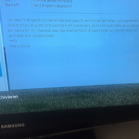 Fifa 16 Karrieremodus Vertragsangebot
