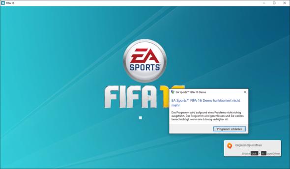 Fifa 16 Ladefehler - (Programm, Fehler, Fifa)