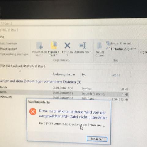 Fehler bei Installation  - (PC, Download, Bug)