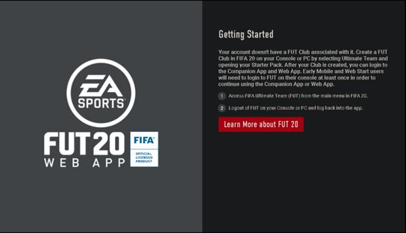 Fifa Web App Geht Nicht