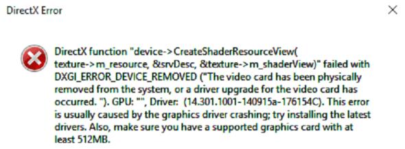 Fehlermeldung beim Absturz - (Computer, Computerspiele, Grafikkarte)