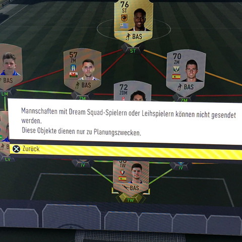 Fehler hier - (FIFA, Ultimate Team, Fifa 17)