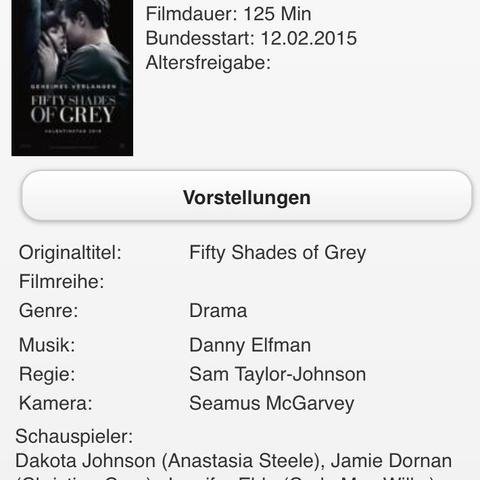 Fifty shades of grey - (Kino, FiftyShadesofGrey, 16odee18)