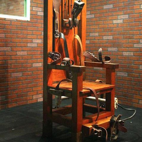 Ein elektrischer Stuhl - (Gesetz, USA, Strom)